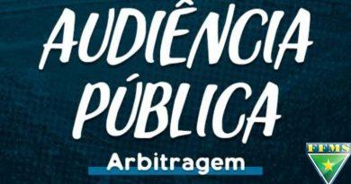 Audiência de Arbitragem – Jogo do dia 28 de fevereiro de 2021 – Serie A 2021
